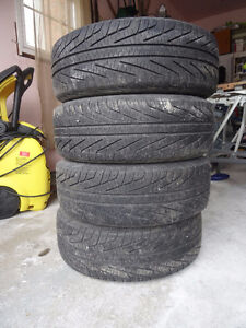 Michelin tires and rims for Honda Civic or other small car