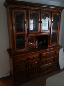 Display Cabinet and Hutch