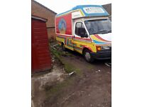 1992 Ford transit ice cream van coach built,swap,px,offers