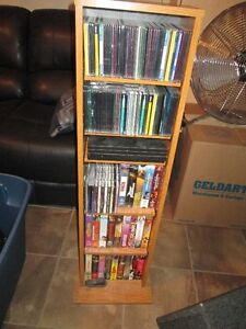 Small shelving unit for DVD's or CD's