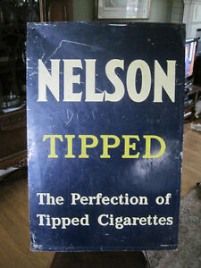 Vintage Nelson  Metal Sign