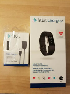 Fitbit Charge 2 + charging cable *Brand new still sealed*