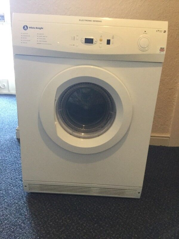 WHITE KNIGHT TUMBLE DRYER MODEL NUMBER 86AW FOR SPARES OR REPAIR