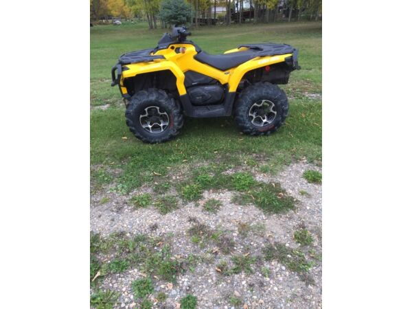Used 2015 BRP outlander 800XT