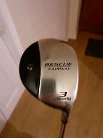 Taylormade Rescue club (steel)