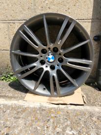 Genuine Bmw Mv3 Rear 8.5J NO CRACKS Alloy Wheel x1