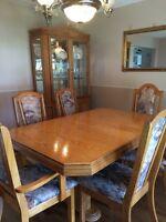 Table set unit