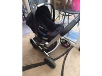 Mothercare travel system buggy.