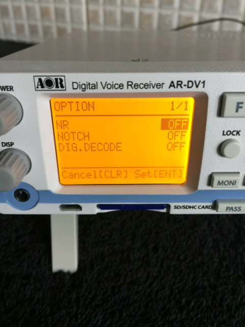 AOR AR-DV1 Digital Scanner Receiver Radio | in St Ives, Cornwall | Gumtree