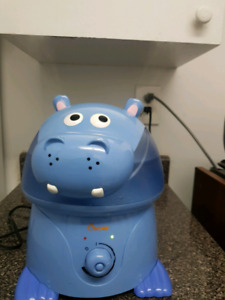 Violet The Hippo, Crane Adorable Ultrasonic Cool Mist Humidifier