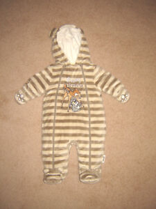 Snowsuit / Boys and Girls Clothes - 0-33, 3-6, 6, 6-12, 12