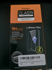 IPHONE 7+ TEMPERED GLASS SCREEN PROTECTOR