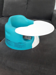 Baby Bumbo Chair in Blue (with tray)