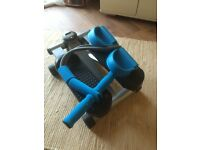 Mini stepper and resistance band