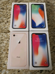 Apple iPhone X - 64GB, Silver, Unlocked