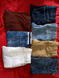 Boys jeans and denim pants 6 to 7 years