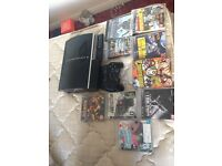 IMMACULATE PS3. 2 CONTROLLERS AND 9 GAMES