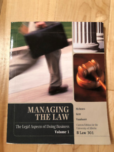 Managing the Law, The Legal Aspects of Doing Business, Textbook