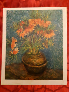 1938 production Vincent van Gogh lithograph produced in France