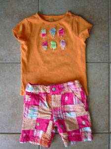 Gymboree Size 4-5 Summer Outfits