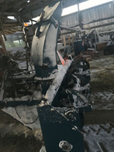 Snowblower tractor attachment