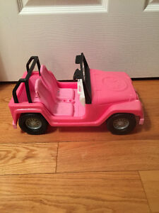 Barbie Car and Assorted Items