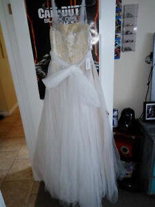 A-line wedding dress, never worn.