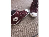 Converse all star (burgundy)