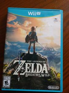 Zelda breath of the wild Wii U Edition
