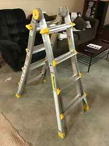 Articulating Ladder and Bench