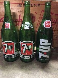 Vintage 7up bottles London Ontario image 1