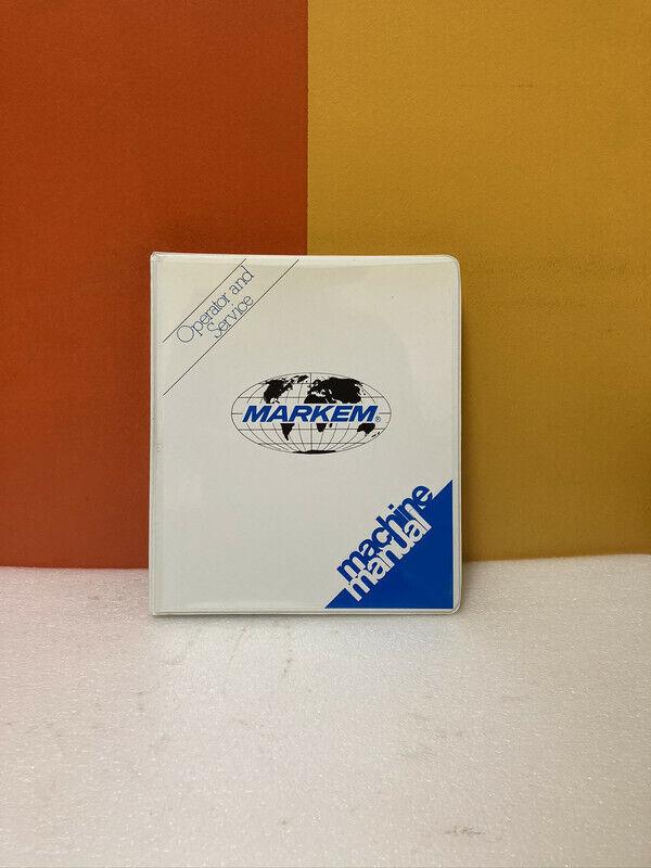 Markem U-1471 Operator & Service Machine Manual