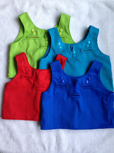 Autism Special Needs Sensory-Accessory vest: for School or Home