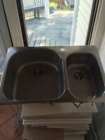 Franke stainless double kitchen sink