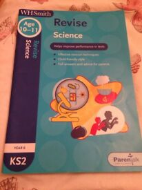 Year 6 Key stage 2 science workbook