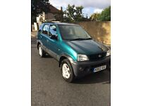 Daiatsu terios 1.3cc with a full years mot
