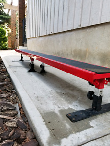 Element Drop Spot - 12ft Bench w/ Adjustable Height