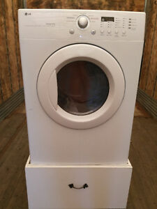 LG washer and dryer ~ EUC front loading, extra capacity