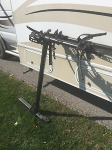 Square Trailer Hitch Bike Rack for 4 Bikes