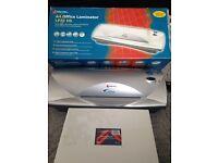 Rexel A4 laminator + 200 A4 pouches