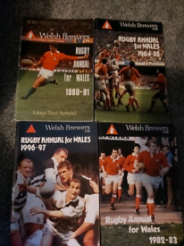 Welsh rugby annuals
