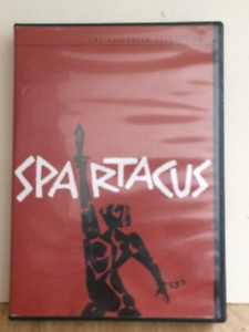 DVD Spartacus Criterion Collection RARE