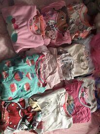 Next Disney store girls bundle pyjamas age 5-6