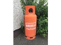 Propane Calor gas cylinder (half full of gas) gas bottle 19kg with regulator