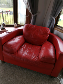 3 seater couch and large chair