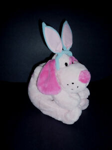 Pink Blue Dog stuffy .. Clean,SmokeFree,Like NEW Cambridge Kitchener Area image 3
