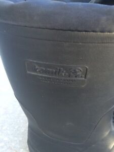 Kamik thermo insulated boots with steel toe
