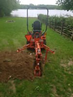 Small backhoe for rent