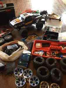 Traxxas Slayer and Many Extras