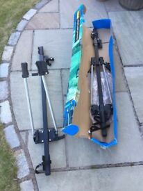 2 Bike carriers for roof bars